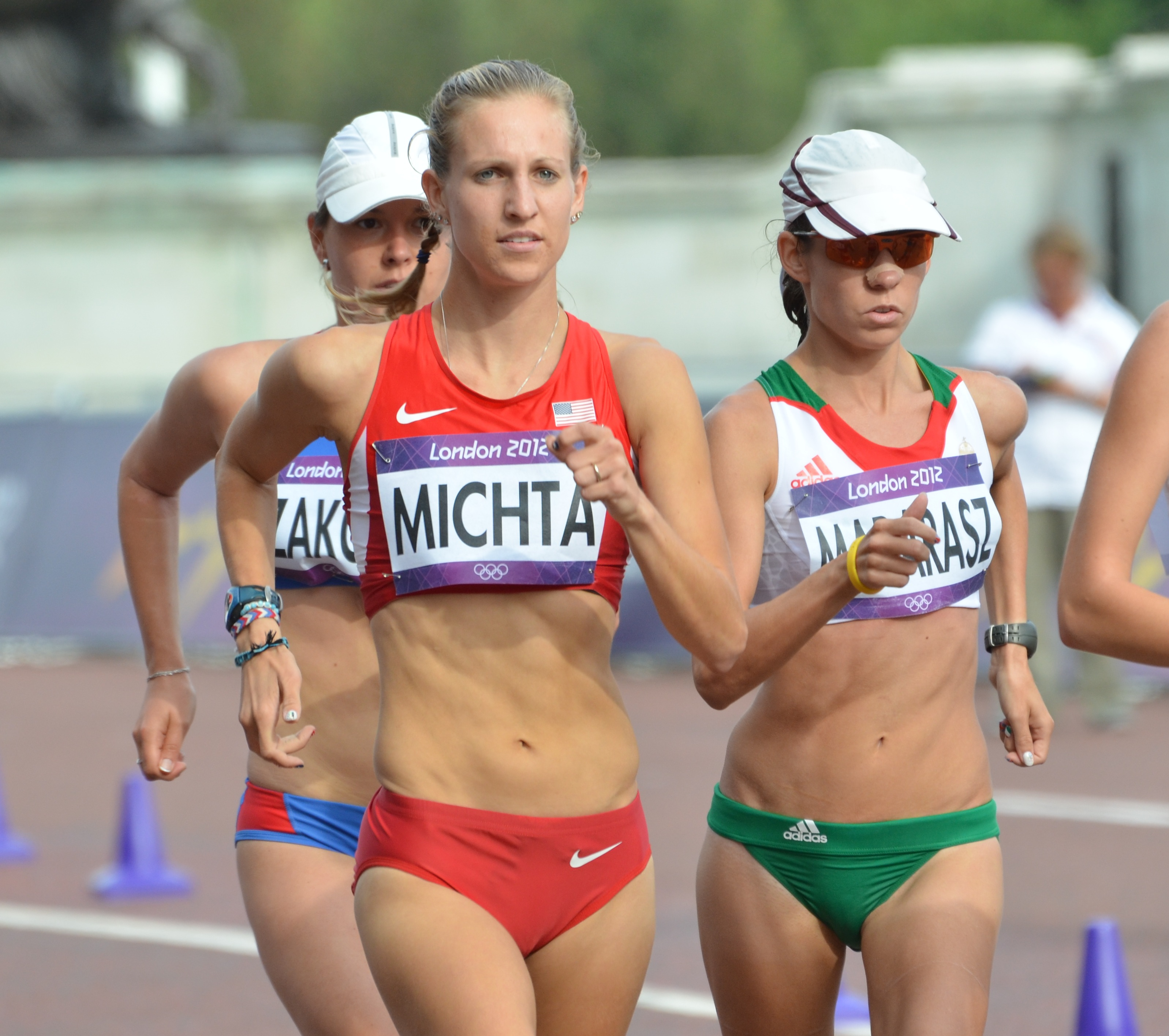 Maria Michta race walk