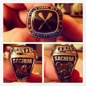 Championship rings were purchased by members of the '93 team.
