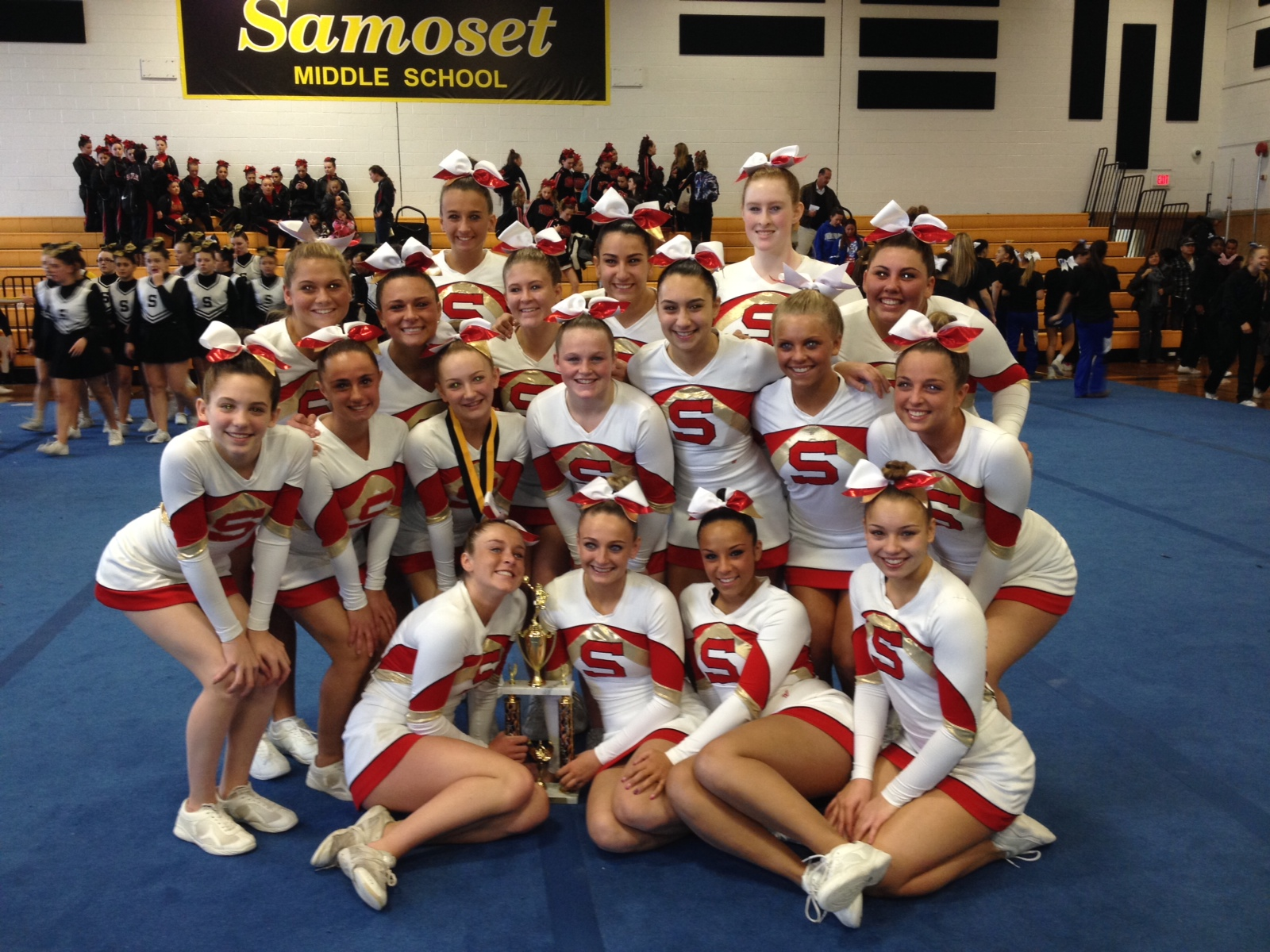 Competition of the season sunday in an event at samoset middle school