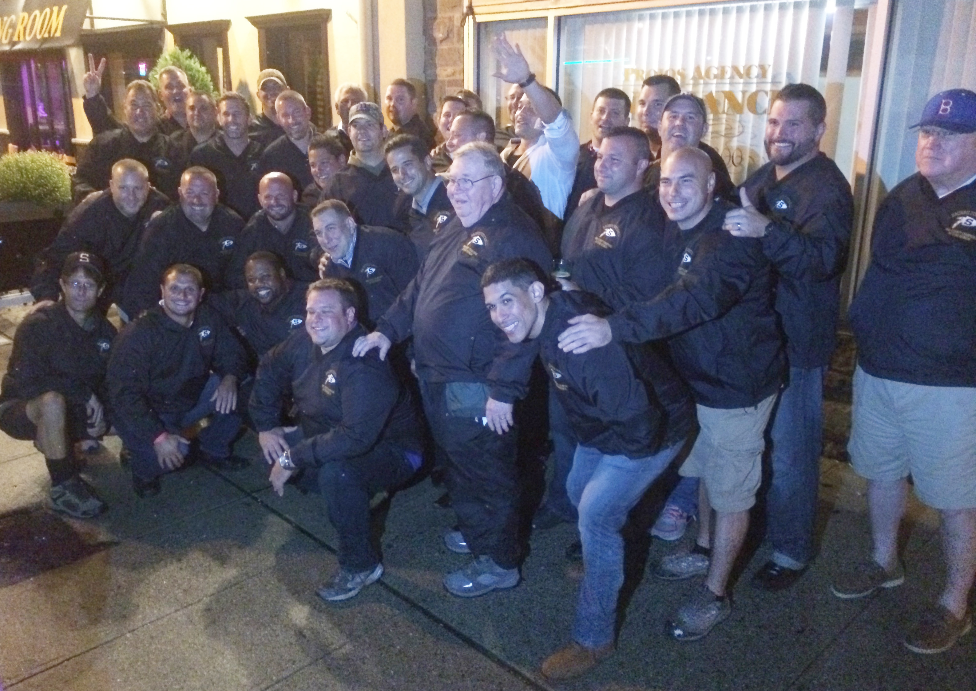 Players and coaches from the 1995 football team gathered for a 20th anniversary reunion this year.